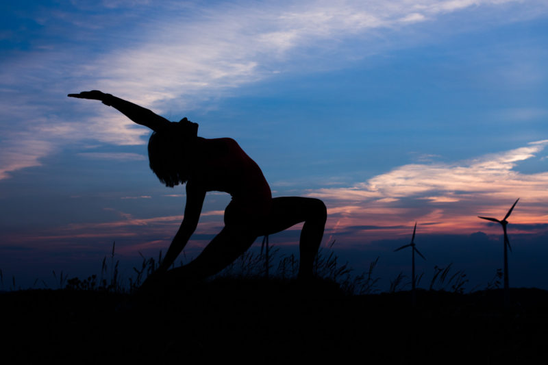 Thomas Wensing | Portfolio | Indoor & Outdoor | Yoga Sundown
